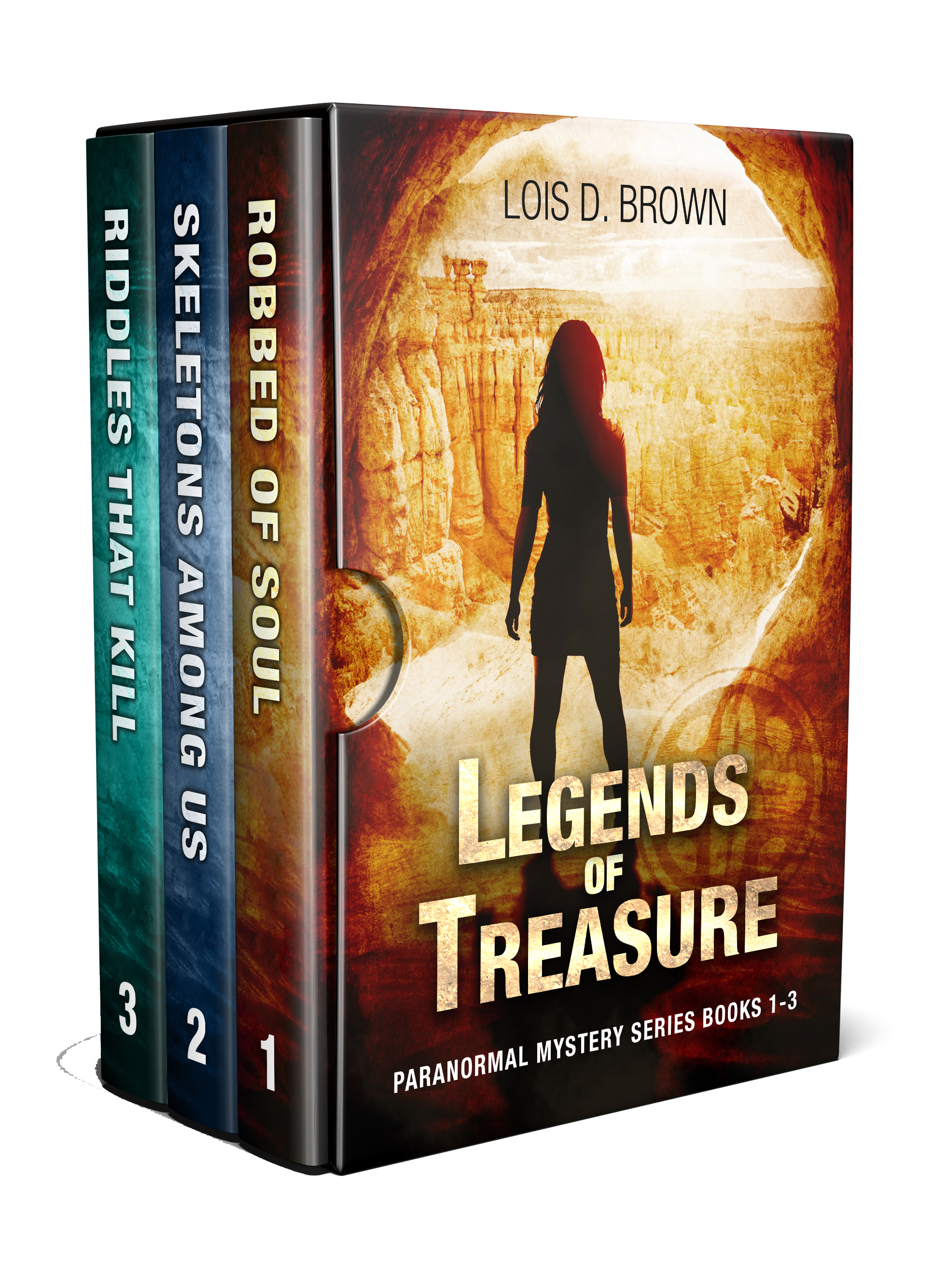 Legends of Treasure Box Set cover with no background