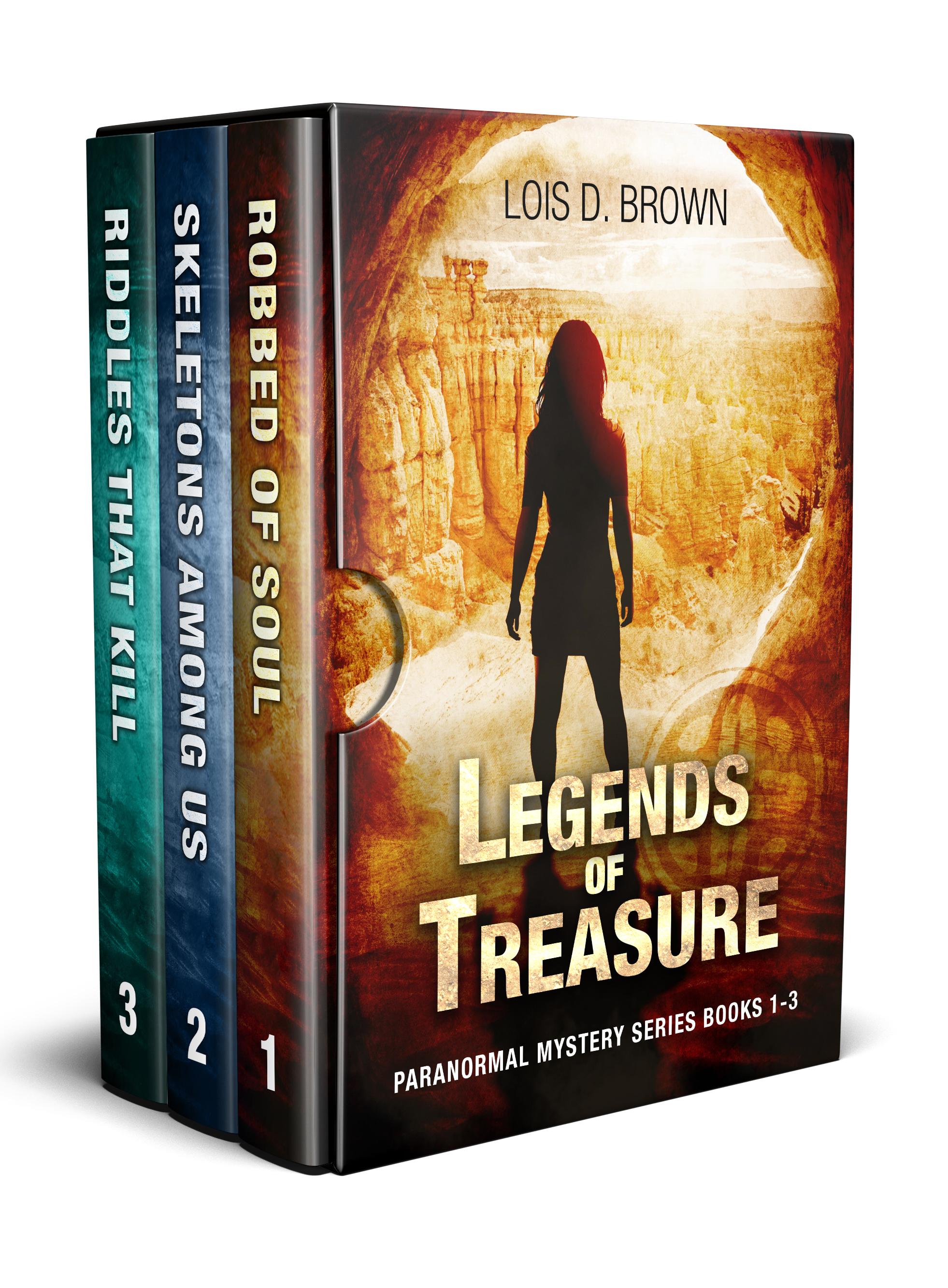 Legends of Treasure Box Set cover